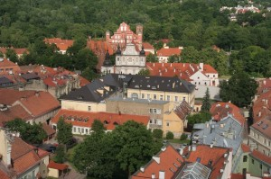 Vilnius from above