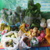Our raw food in Ko Phangan island, Thailand