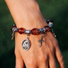 Bracelet with religious signs
