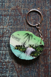 Keyholder made of a seed