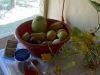 fruits on the fridge - we became addicted to them