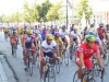 international bicycle competition on main street of Cienfuegos