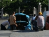 a daily view on Cuban\'s streets - repairing cars