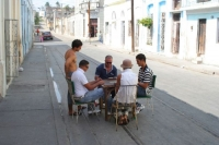 Domino - probably the most important Cuban game, played everywhere on the streets