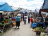 our wonderful Saturday market around the corner of our house