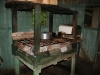 a wooden stove for long-term cooking