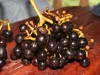"""uvas"" (grapes), a bit different ones, but anyway tasty"