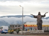 Ecuador - the country of huge statues