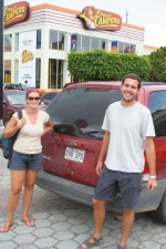 Sylvie and Dominic, our Canadian drivers from Nicaragua to El Salvador