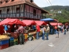 weekend market in Colonia Tovar
