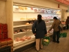 strikes on the road makes meat shelves get empty soon