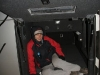 the second night of being stuck in Susques due to snow falls on the Chilean side (and thus closing of the border), Pedro let us sleep in his cabin in the bus - a divine act, making us sleep the entire night without cold or other disturbances