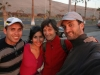 Omar and Carolina - our saviors in Arica concerning accomodation