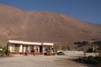 our place to stay in Playa Blanca, 10km outside of Iquique