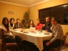 dinner in Julio\'s 6-head family