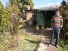 Rodolfo in front of his parent\'s house, where we stayed for several days