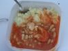 potatoe mus and beans goulash - the best combination