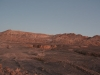 everything waking up, and us hurrying to reach Valle de la Luna before sunrise finishes