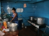 Cabo Pantoja has, compared to other boats, the biggest kitchen