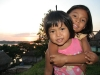 Rosita with cousin Evelyn