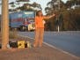 Hitch-hiking through Nullarbor