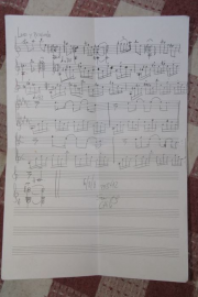 "Composition for flute ""Leño y profundo"" (Full and Deep)"