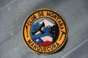 Badge of mountain club Manquecura