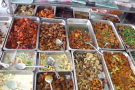Food courts and vegetarian restaurants in Malaysia
