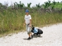 Crossing Belizean-Gutemalan border