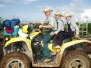 Mennonites in Little Belize village (August)