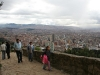 on way up to Monserrate