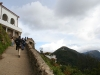 approaching the top of Monserrate
