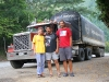 our biggest truck so far in Colombia