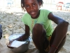she sold sweet corn-something, we could have eaten her whole pot!