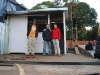 in this little hut we spend our night in Bucaramanga