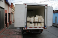 cheese - the delivery Francisco brought to Tulua and Cali