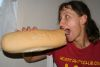 huge bread that is made of a very hard crust and nothing but air inside
