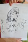 Katja - drawn by a street