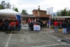 Chile independence day celebrated in a private persons garden in Gualaceo