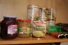 Rotkraut, Sauerkraut, Senfgurken