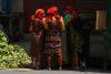 Kuna indigeneous near the central market in Colon