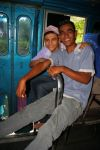 friends we made in the bus to the Colombian border