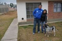 Federico and Anita with daughter Albita