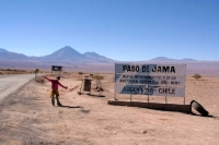 starting point in San Pedro for our trip to Salta, Argentina