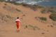Police orienteering hike in Concon dunes