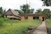 the house we stayed in (left) and health center (right)