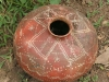 wonderful pottery left without attention in the backyard of Oscars house